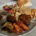 Lunch w Dania kuchni libańskiej