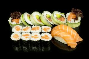 Lunch w Saya Sushi