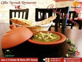 Lunch w Qilla Nawaab Restauracja