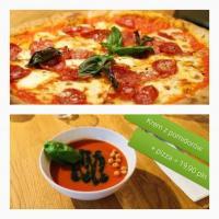 Lunch w Włoszczyzna Pizza & Bar