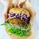 Lunch w Vegan Burger