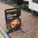 Lunch w Kurczak z rożna - przyczepa gastronomiczna (obok Lidla)