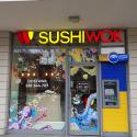 Lunch w Sushi Wok