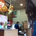Lunch w Domino's Pizza