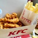Lunch w KFC